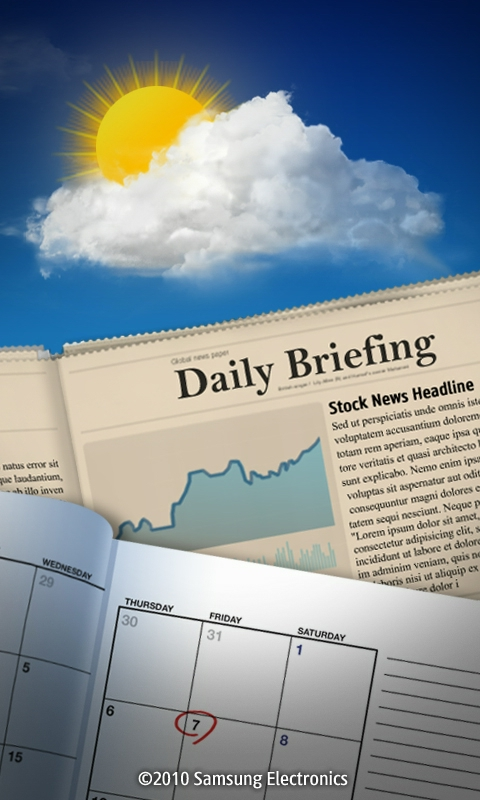 Daily Briefing on Samsung Wave